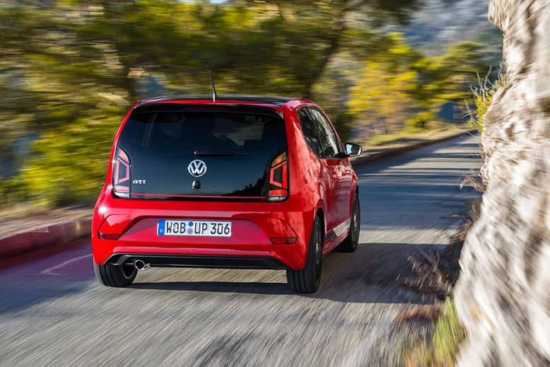 VW up!, Heck