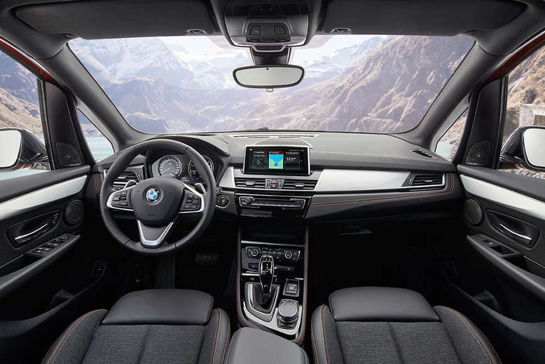 BMW Active Tourer, Cockpit