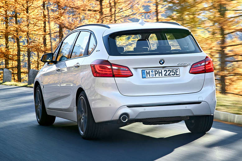 BMW 2er Active Tourer i Performance, Heck