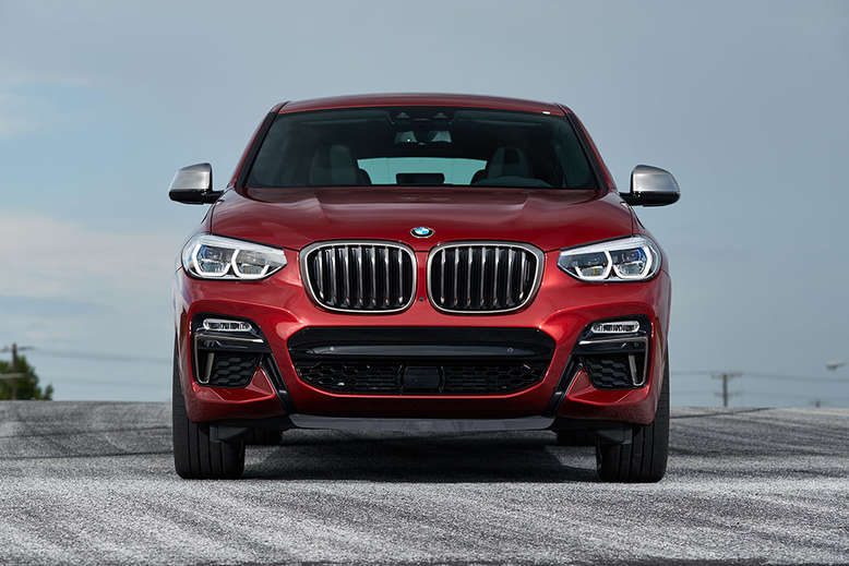 BMW X4, Front