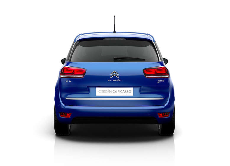 Citroen C4 Spacetourer, Heck