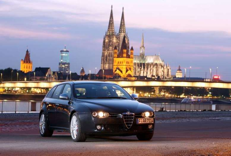 159 Sportwagon, 2008, Foto: © Fiat Group Automobiles Germany AG