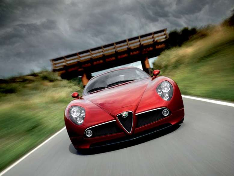 8c Competizione, 2007, Foto: © Fiat Group Automobiles Germany AG