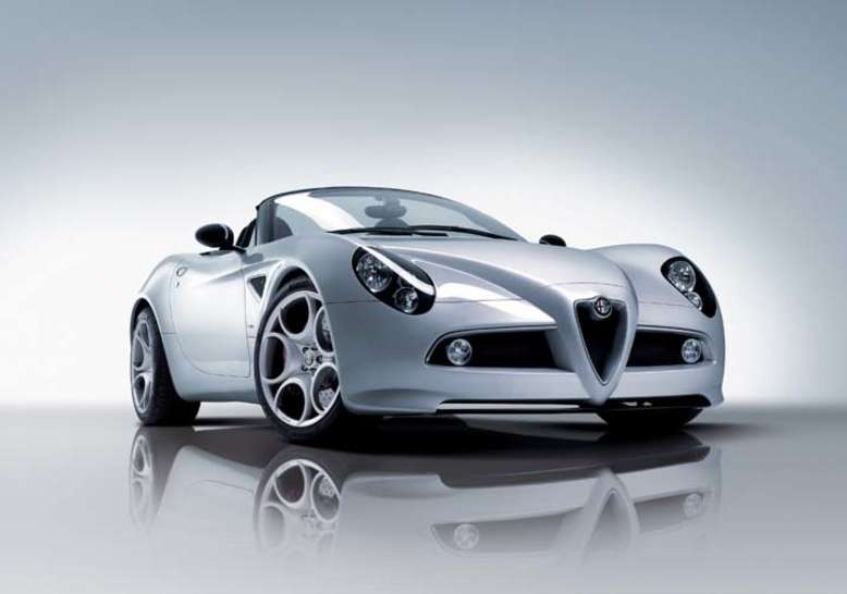 8c Spider, 2008, Foto: © Fiat Group Automobiles Germany AG