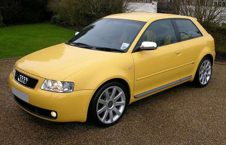 Audi S3, 2005, Foto: The Car Spy