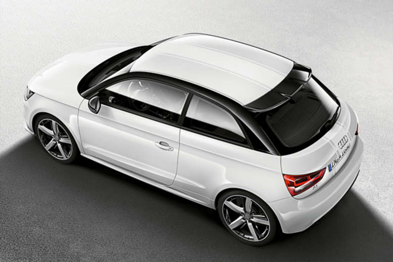 Audi A1 amplified, Draufsicht, Foto: Audi