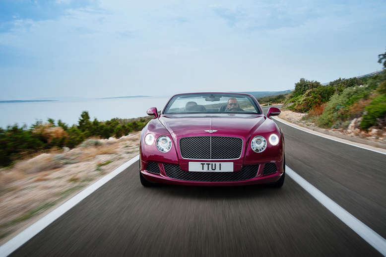 Bentley Continental GT Speed Convertible, Quelle: Bentley