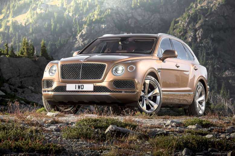 Bentley Bentayga, 2015, Foto: Bentley