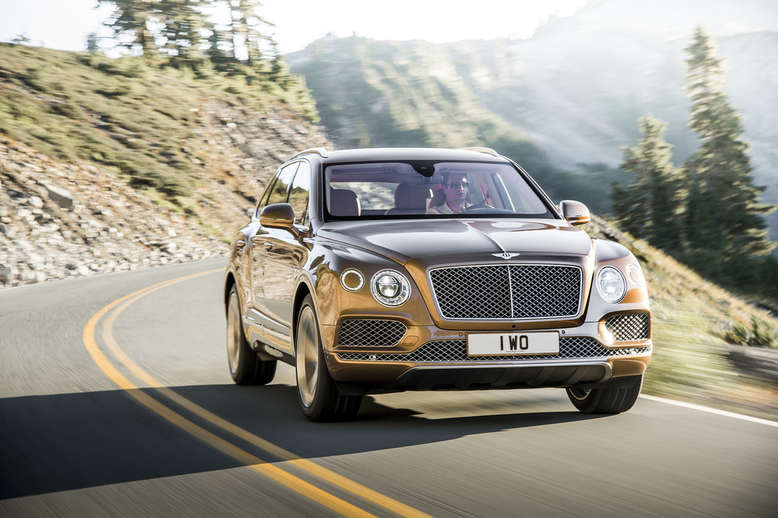 Bentley Bentayga, Front, 2015, Foto: Bentley