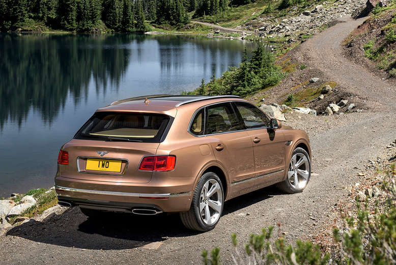 Bentley Bentayga, Heck, 2015, Foto: Bentley