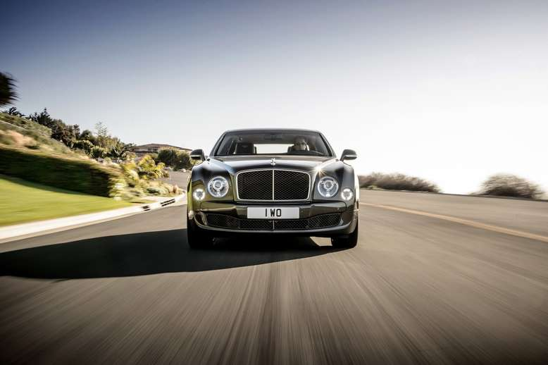 Bentley Mulsane, Front, 2014, Foto: Bentley