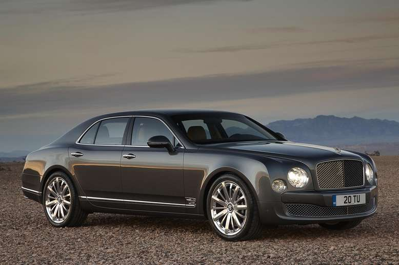 Bentley Mulsane, 2012, Foto: Bentley