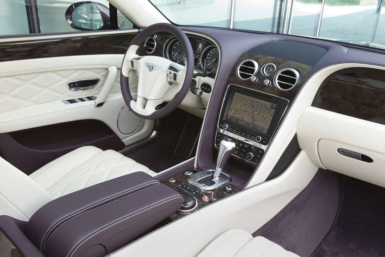 Bentley Flying Spur, Innenraum / Cockpit, 2015, Foto: Bentley