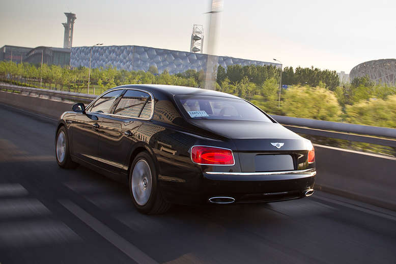 Bentley Flying Spur, Heck, 2015, Foto: Bentley