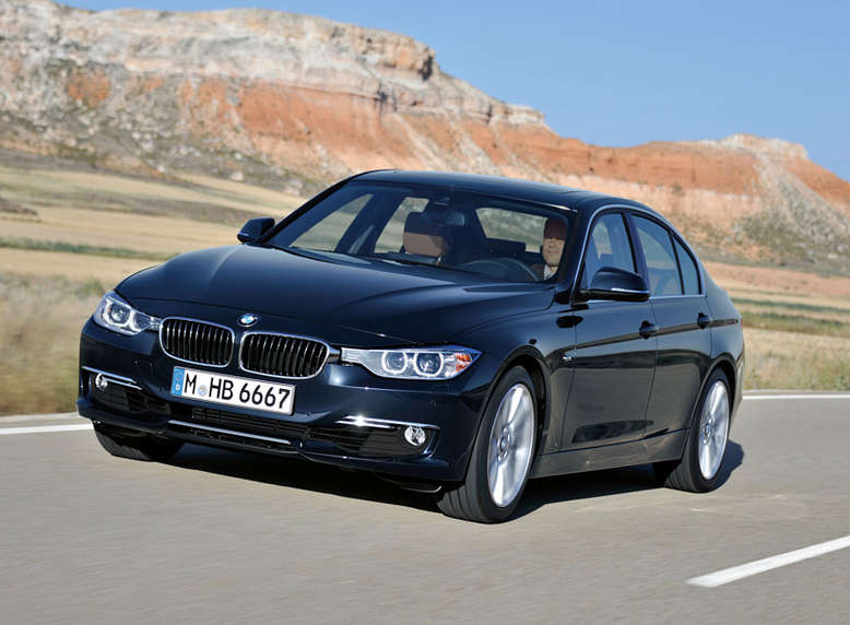 BMW 3er Limousine, Luxury Line (10/2011), Foto: BMW
