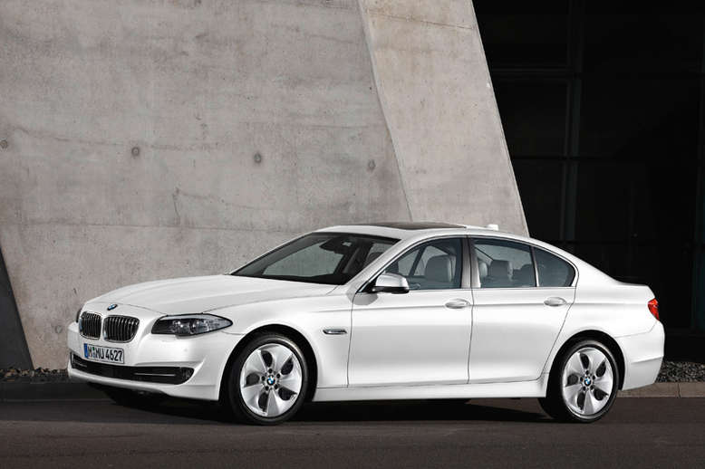 BMW 5er, EfficientDynamics Edition, Seitenansicht, 2011, Foto: BMW
