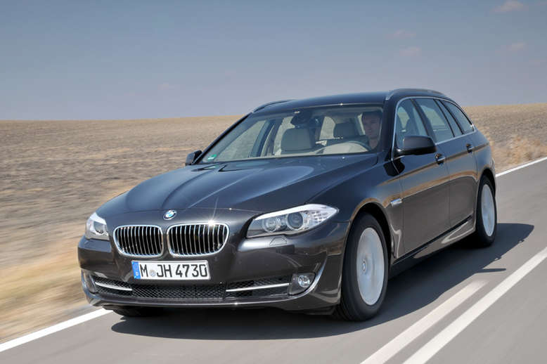BMW 528i Touring, Frontansicht, 2011, Foto: BMW