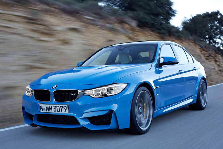 BMW M3, Sedan/Saloon Edition, Frontansicht, 2013, Foto: BMW