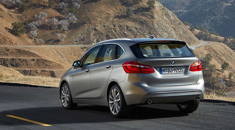 BMW 2er Active Tourer, Heck, 2014, Foto: BMW