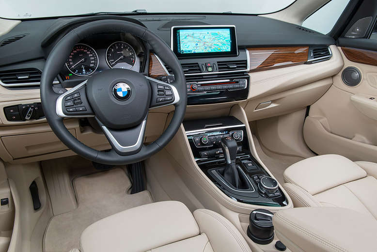 BMW 2er Active Tourer, Cockpit / Innenraum, 2014, Foto: BMW