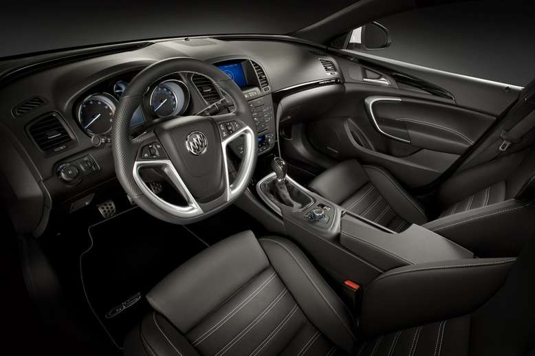 Buick Regal GS Show Car, Innenraum / Cockpit, 2010, Foto: General Motors