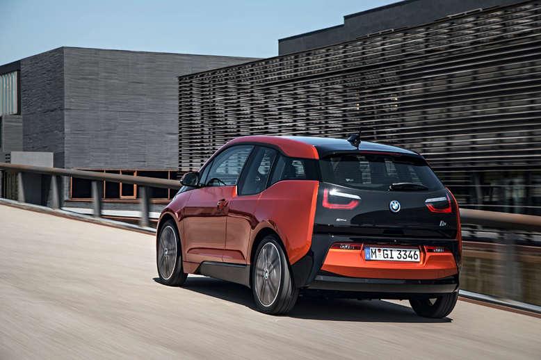 BMW i3, Heckansicht, 2013, Foto: BMW