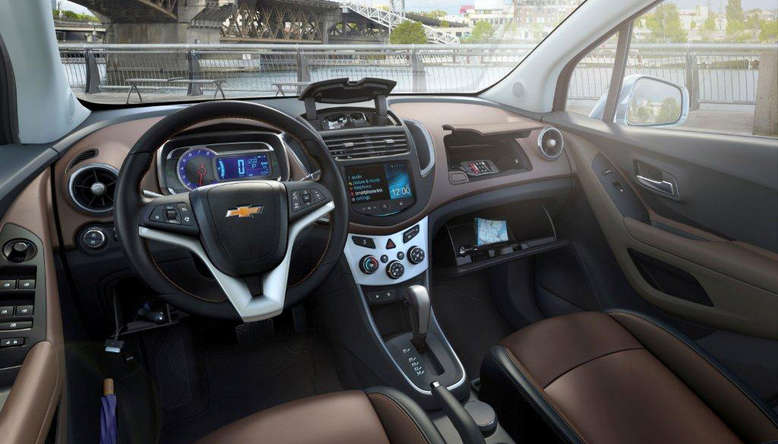 Chevrolet Trax, Innenraum / Cockpit, 2013, Foto: General Motors