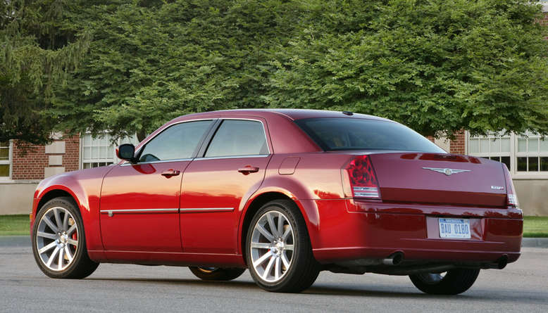 Chrysler 300C, Heckansicht, 2009, Foto: Chrysler