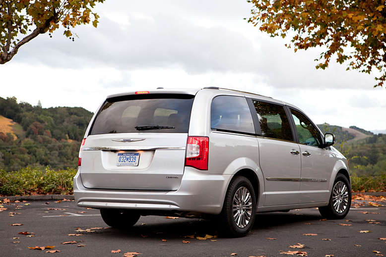 Chrysler Town and Country, Heckansicht, 2011, Foto: Chrysler