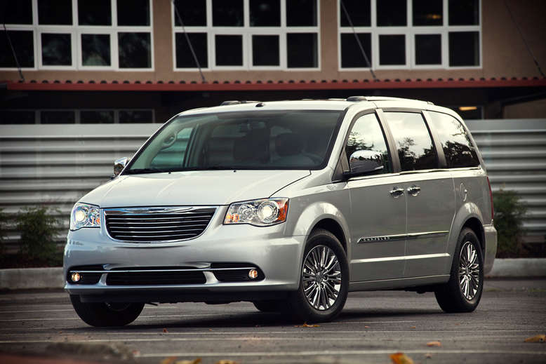 Chrysler Town and Country, Frontansicht, 2011, Foto: Chrysler