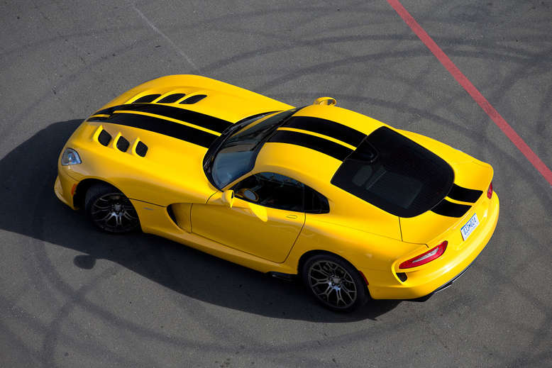 Dodge Viper, SRT, Draufsicht, 2012, Foto: Chrysler