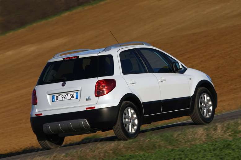 Fiat Sedici, 2009, Foto: © Fiat Group Automobiles Germany AG