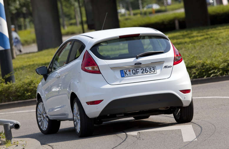 Ford Fiesta, Heck, 2012, Foto: Ford