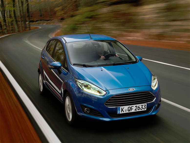Ford Fiesta, Frontansicht, 2014, Foto: Ford