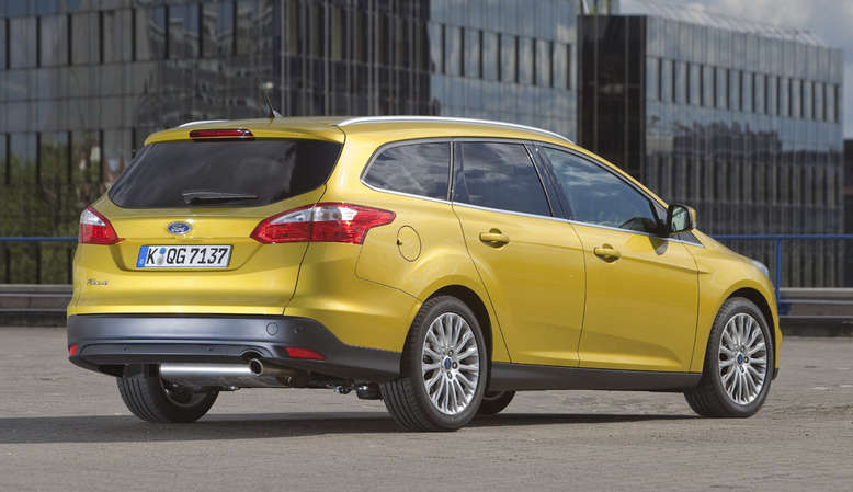 Ford Focus Turnier, Heck, Foto: Ford
