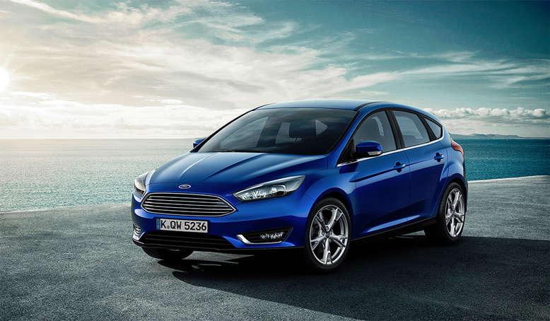 Ford Focus, Frontansicht, 2015, Foto: Ford