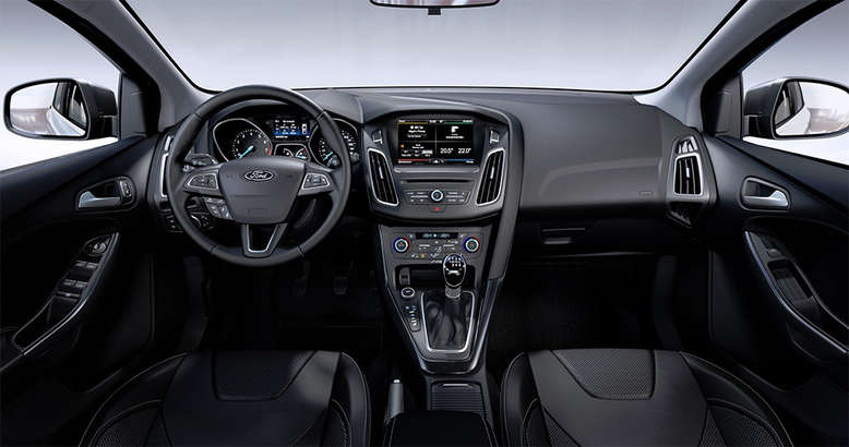 Ford Focus, Innenansicht, Cockpit, 2015, Foto: Ford