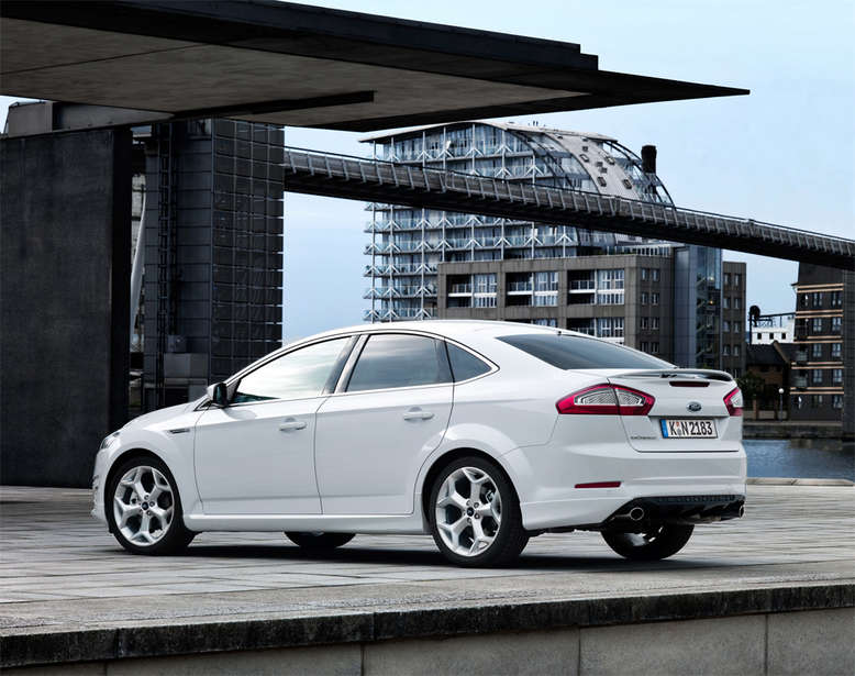 Ford Mondeo, Heckansicht, 2012, Foto: Ford