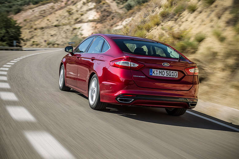 Ford Mondeo, Heck, 2014, Foto: Ford
