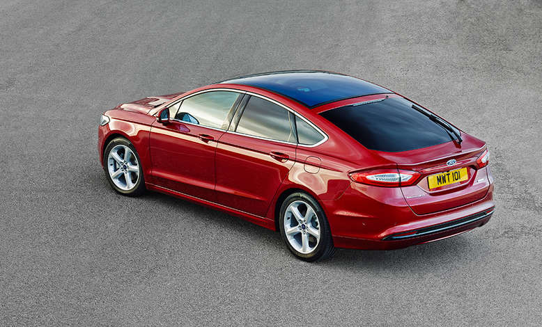 Ford Mondeo, Draufsicht, 2014, Foto: Ford