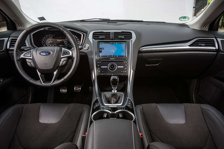Ford Mondeo, Cockpit / Innenraum, 2014, Foto: Ford
