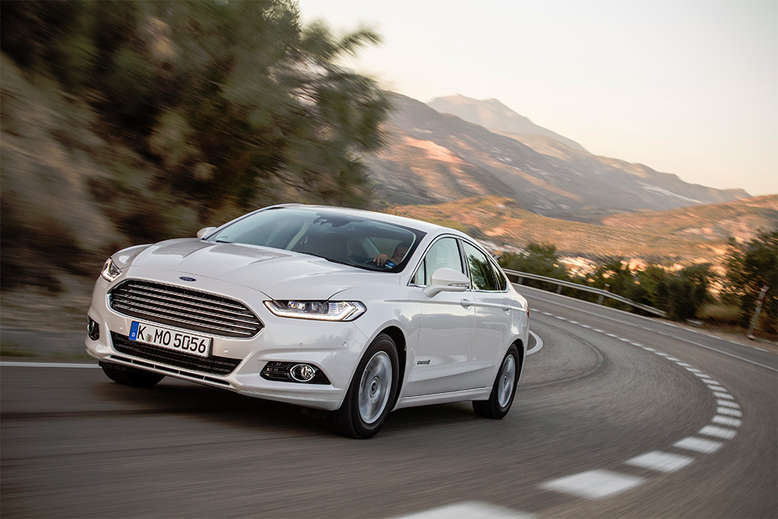 Ford Mondeo Hybrid, Frontansicht, 2015, Foto: Ford
