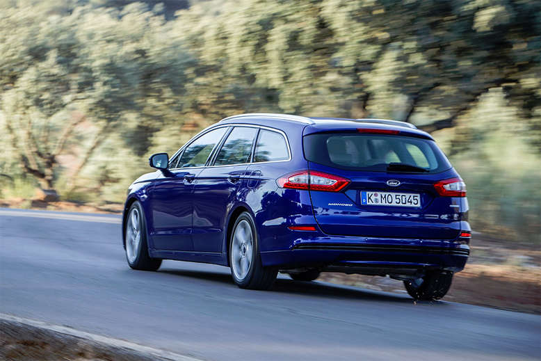 Ford Mondeo Wagon, Heckansicht, 2015, Foto: Ford