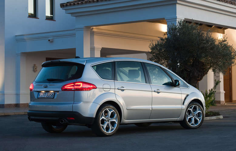 Ford S-MAX, Heck, 2012, Foto: Ford