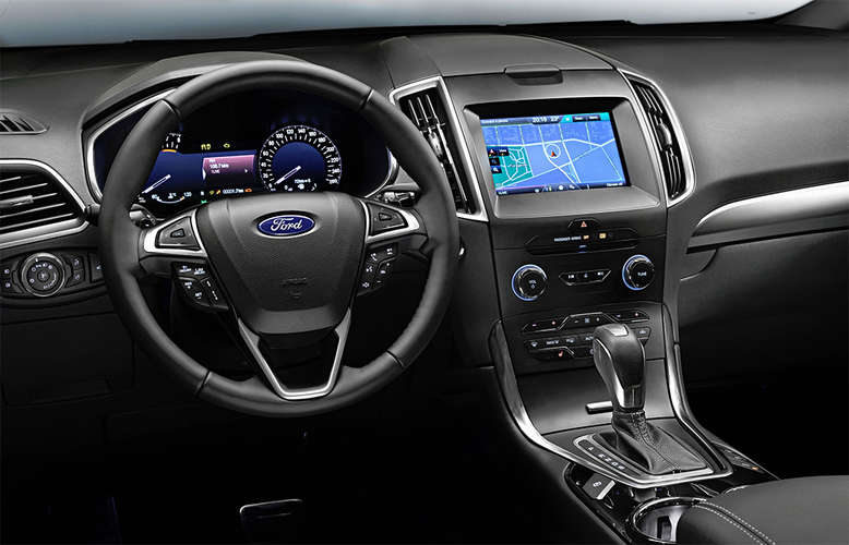 Ford S-MAX, Innenansicht, Cockpit, 2015, Foto: Ford