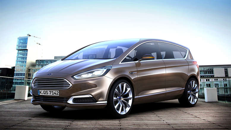 Ford S-MAX, Fahrzeugstudie, Frontansischt, 2013, Foto: Ford