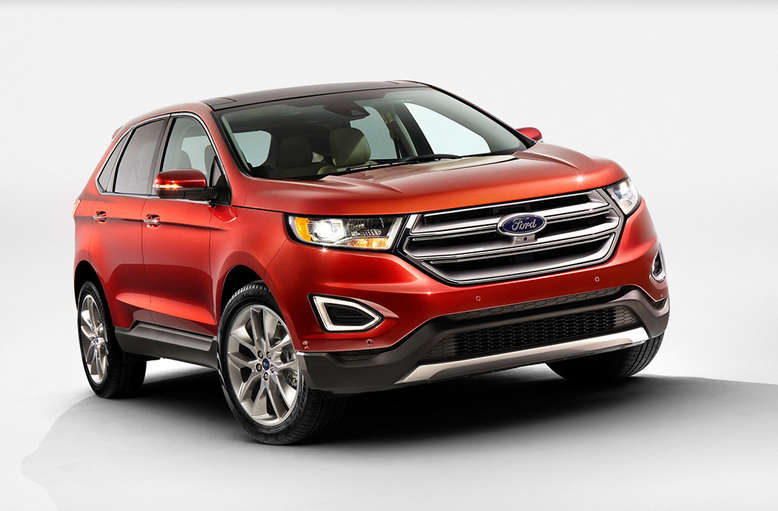 Ford Edge, Front, 2014, Foto: Ford