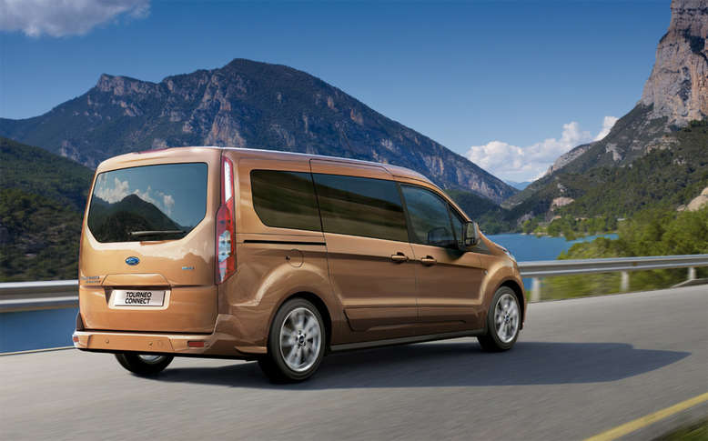 Ford Tourneo Connect, Heckansicht, 2013, Foto: Ford