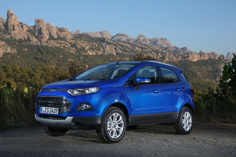 Ford EcoSport, Front, 2014, Foto: Ford