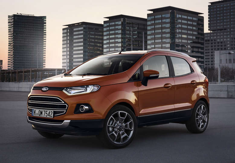 Ford EcoSport, 2014, Foto: Ford